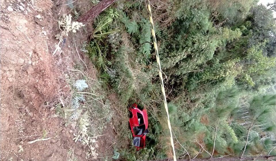 Bombeiros encontram corpo de jovem que caiu em rio após acidente em Taió