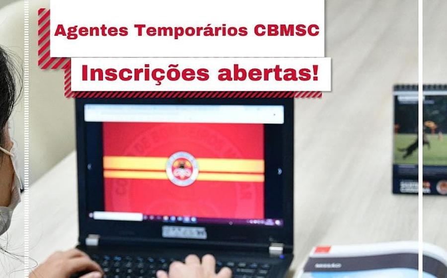Corpo de Bombeiros tem nove vagas abertas para agente aministrativo em Rio do Sul