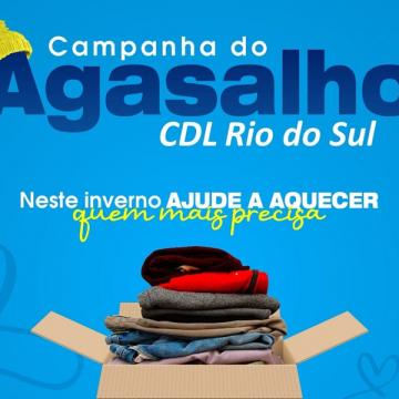 CDL de Rio do Sul realiza recolhimento de agasalhos e cobertores para doação