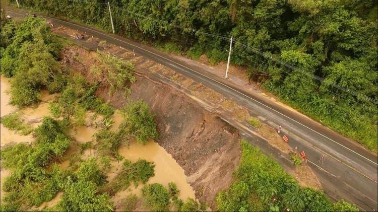 Após contestações do Estado, licitação para construção de muro de contenção entre Rio do Sul e Lontras, deve ocorrer em junho