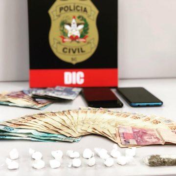 Polícia civil deflagra nova operação contra o tráfico de drogas em Rio do Sul