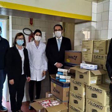 Hospital Bom Jesus recebe monitores e EPIs com destinação de recursos da segunda vara da Comarca de Ituporanga