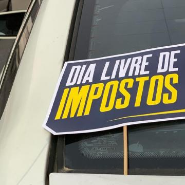 No Dia Livre de Impostos, posto de combustível participa de ação com venda de gasolina a R$ 3,3