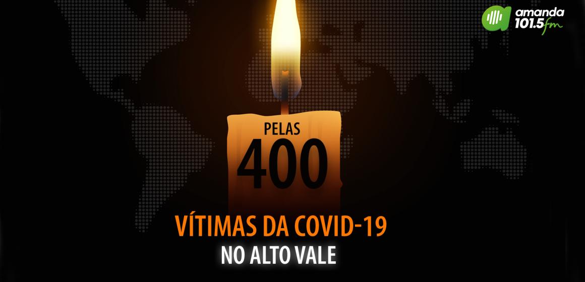 Alto Vale do Itajaí ultrapassa 400 óbitos causados pelo coronavírus