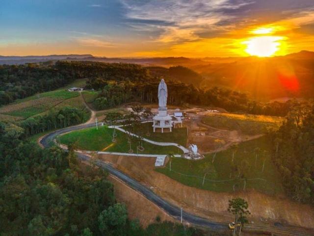 Projeto de lei transforma futuro santuário de Ituporanga em ponto turístico religioso de SC