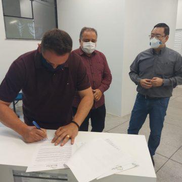FMD Rio do Sul e Unidavi assinam termo de parceria para projetos de pesquisa e aulas práticas