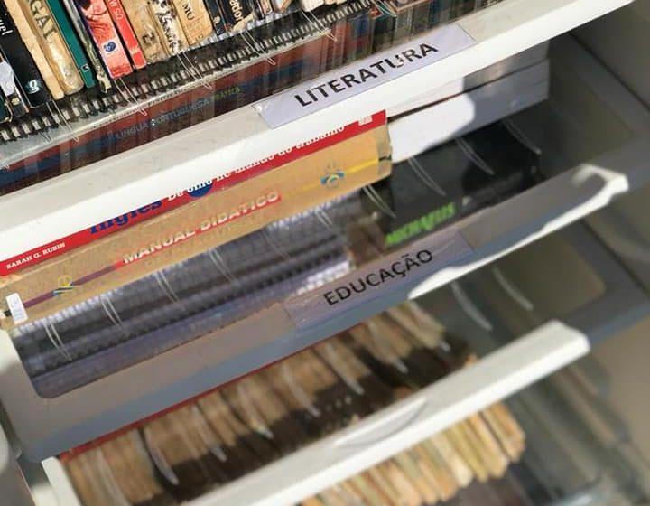 Geladeira Literária é implantada no Parque da Cidade, em Ituporanga