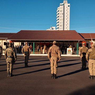 Solenidade lembra aniversário de 27 anos de instalação do 13º Batalhão da Polícia Militar