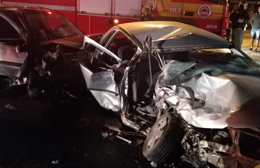Duas pessoas morrem em colisão de veículos, na SC-350, em Ituporanga
