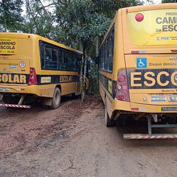 Furto de baterias dos ônibus escolares de Lontras geram prejuízo de quase R$ 9 mil