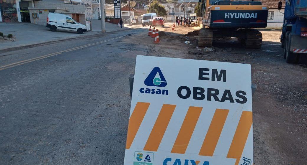 Obras de esgotamento sanitário da Rua Princesa Isabel devem ser concluídas no fim do mês de julho