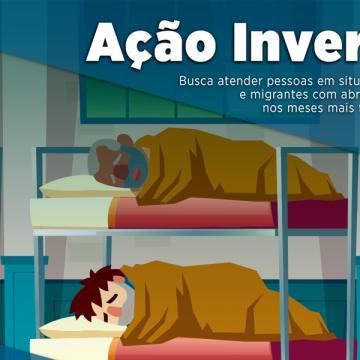 Secretaria de assistência e desenvolvimento social de Rio do Sul recebe doações de roupas masculinas e cobertas para atendimento de moradores de rua