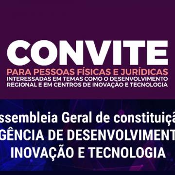 Agência de Desenvolvimento de Inovação e Tecnologia do Alto Vale será constituída em assembleia virtual