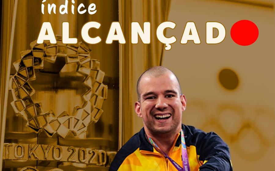 Nadador Bruno Becker aguarda convocação para integrar seleção brasileira nos Jogos Paralímpicos