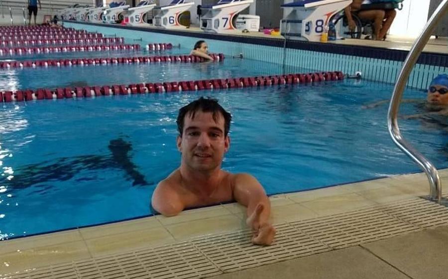 Bruno Becker disputa etapa seletiva para os Jogos Paralímpicos de Tóquio