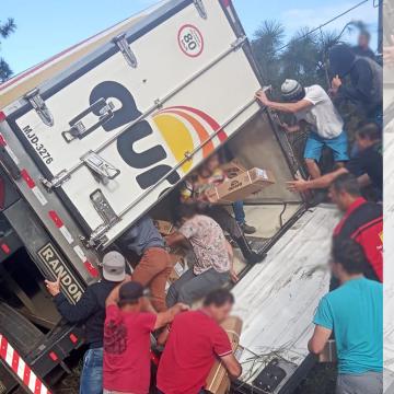 PRF alerta que saque de cargas podem ser enquadrados por furto