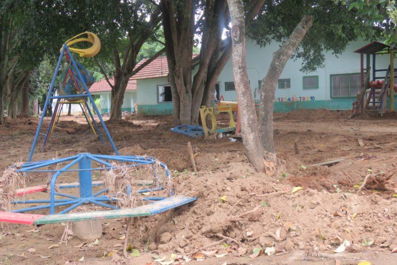 Presidente Getúlio inicia reforma do Centro de Educação Infantil Dom Quixote