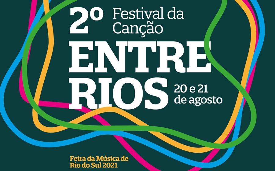 2º Festival da Canção Entre Rios Edição Alto Vale está com inscrições abertas para músicos e bandas