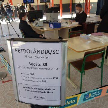 Petrolândia recebe observadores internacionais durante eleição suplementar