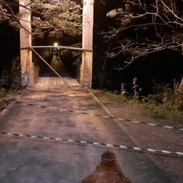 Ponte entre Presidente Getúlio e Ibirama é interditada por danos na estrutura