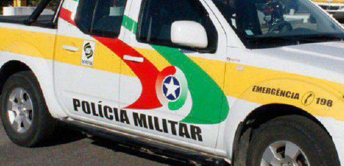 Condutor foge após capotamento em Ituporanga