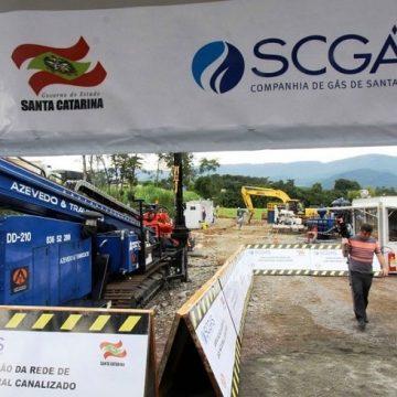 Mais de R$ 450 milhões serão aplicados na ampliação da rede de gás natural em SC