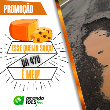 """Grupo de Comunicação Difusora lança campanha """"Esse Queijo Suíço da 470 é meu"""""""
