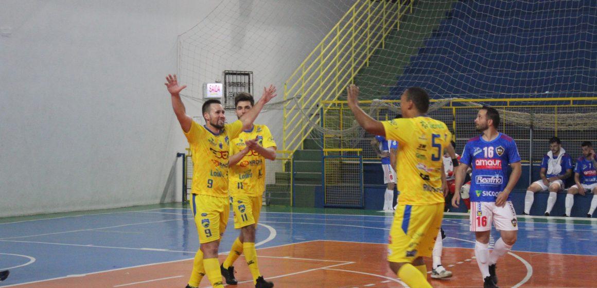 Rio do Sul goleia o Maravilha Futsal pela Liga Catarinense