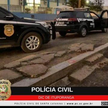 Polícia Civil cumpre quatro mandados de prisão em Ituporanga por tráfico de drogas e associação