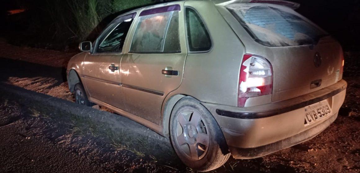 Embriagado, motorista é preso após sofrer acidente na BR-470, em Ibirama