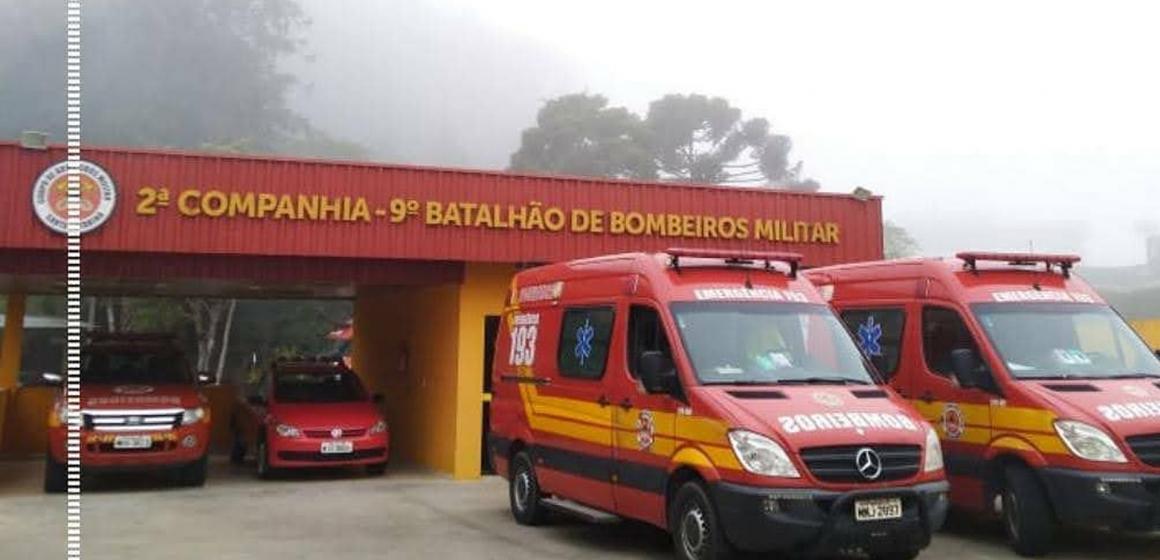 15º Batalhão de Bombeiros Militar de Rio do Sul avalia trabalho de fiscalização de controle da disseminação do coronavírus