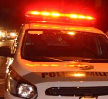 Homem com mandado de prisão por ameaça é preso em blitz em Rio do Sul