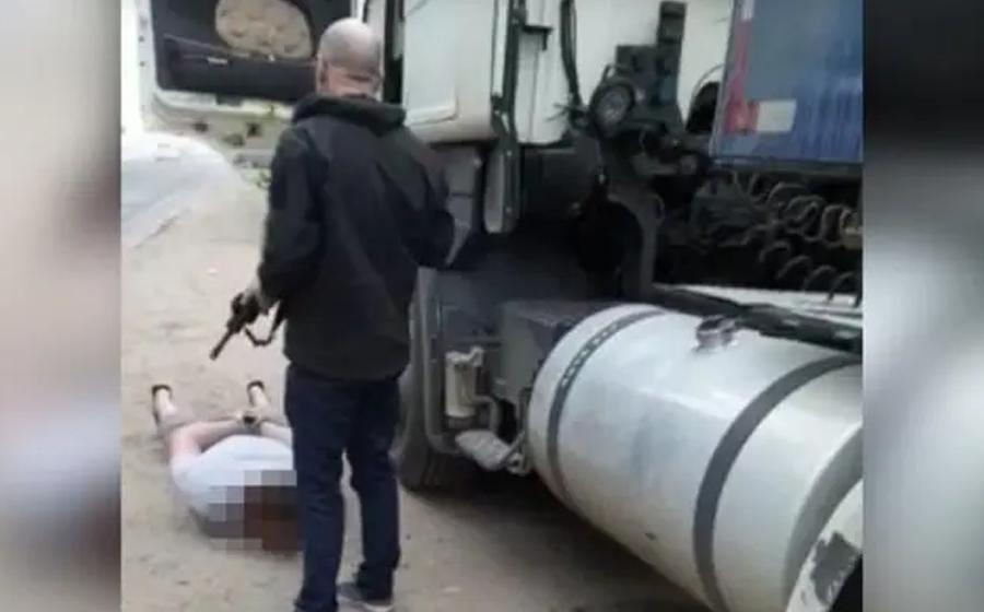 Caminhoneiro de Pouso Redondo é preso suspeito de inventar tombamento de caminhão e saque de carga  para furtar milhares de garrafas de cerveja