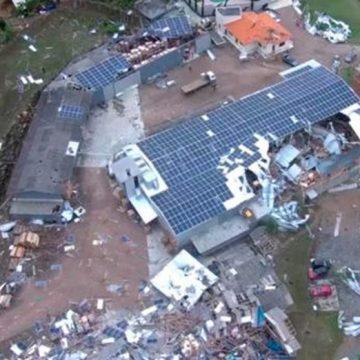 Um ano após ciclone bomba, empresas se reerguem em Rio do Sul