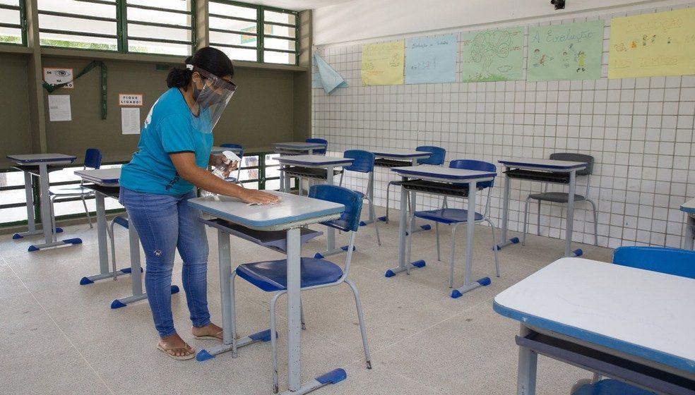 Após vacinação de professores, é aguardada ampliação do número de crianças no ensino presencial na rede pública municipal da região