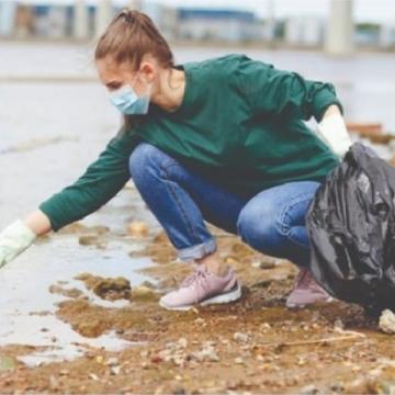 Lixo recolhido durante ação do ribeirão Ximbica é encaminhado à coleta seletiva