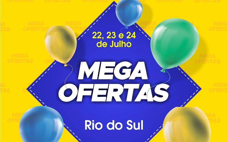 CDL de Rio do Sul realiza mais uma edição do Mega Ofertas