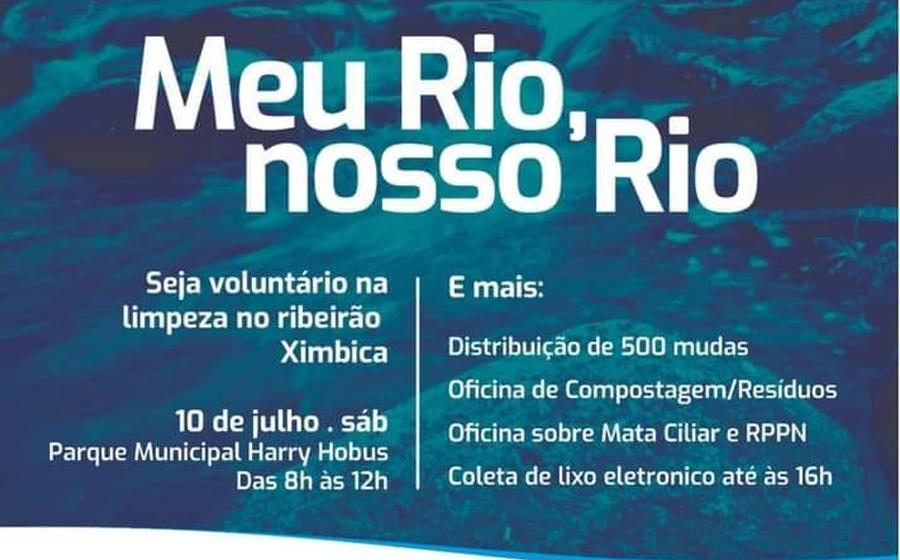 Rio do Sul terá limpeza do ribeirão Ximbica no sábado