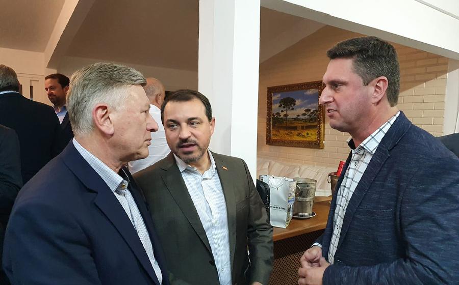 Prefeito de RSL visita Florianópolis e garante cerca de R$30 milhões junto ao governo de SC