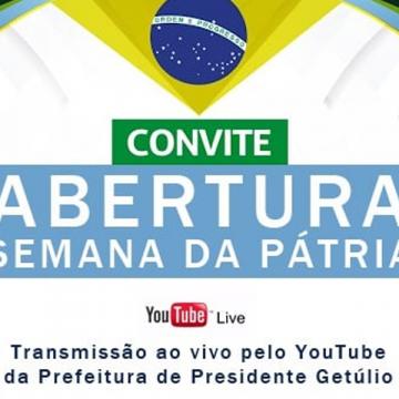 Presidente Getúlio e Ituporanga aderem a tecnologia para celebrar a Semana da Pátria