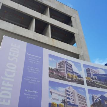 Nova sede da Câmara de Vereadores de RSL deve ser entregue em 2022