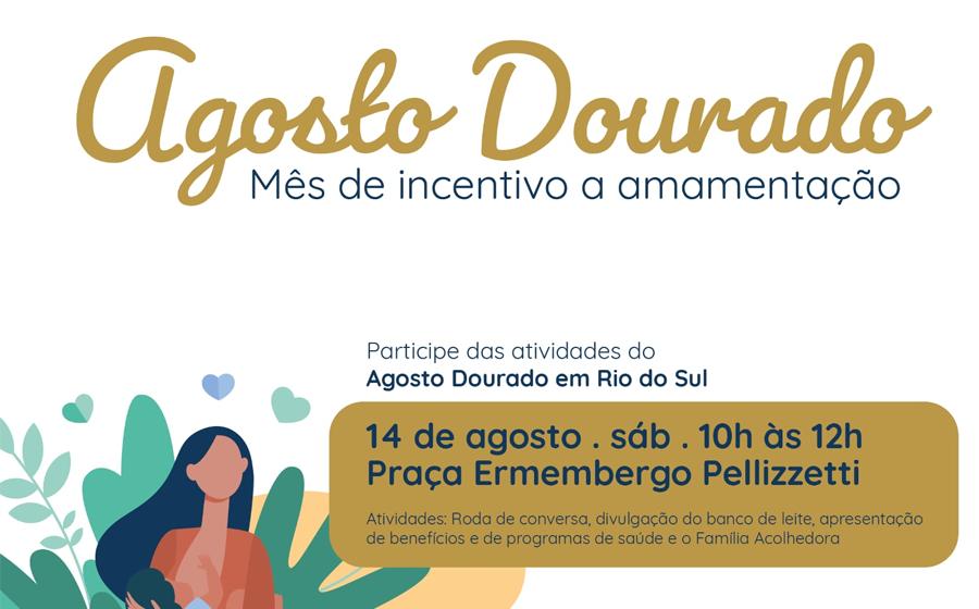 CAM realiza ação de incentivo ao aleitamento materno, em Rio do Sul