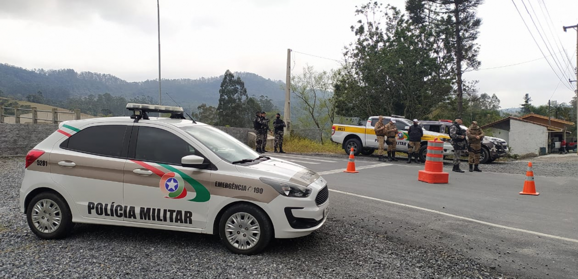 Operação Barriga Verde faz barreiras de trânsito e abordagens policiais entre Ituporanga e Rio do Sul