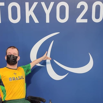 Primeira competição de Bruno Becker nas Paralímpiadas de Tóquio será no sábado a noite