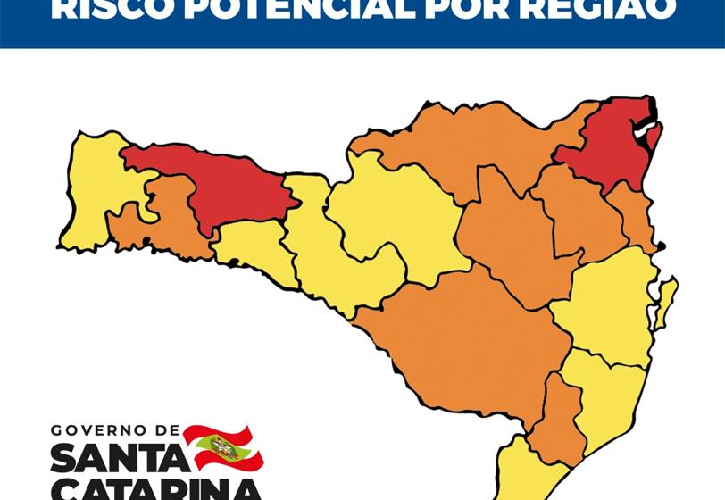 Alto Vale do Itajaí é a região com índice de síndrome gripal mais alto do estado