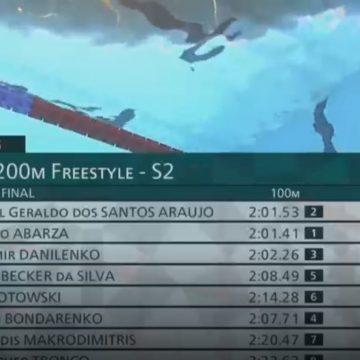 Na primeira disputa Paralímpica da carreira, Bruno Becker conquista quarto lugar