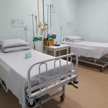 Pela primeira vez, desde o início da pandemia, ala covid do Hospital Bom Jesus está sem pacientes internados