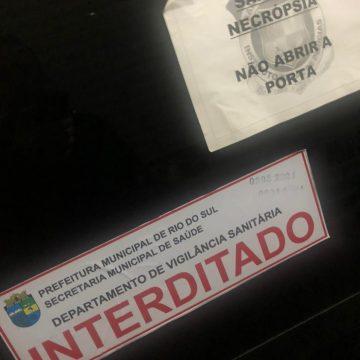 IGP se manifesta sobre fechamento da sala de necrópsias em Rio do Sul