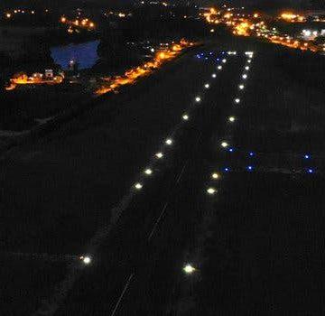 Balizamento noturno do Aeroporto de Lontras ainda aguarda homologação pela Anac