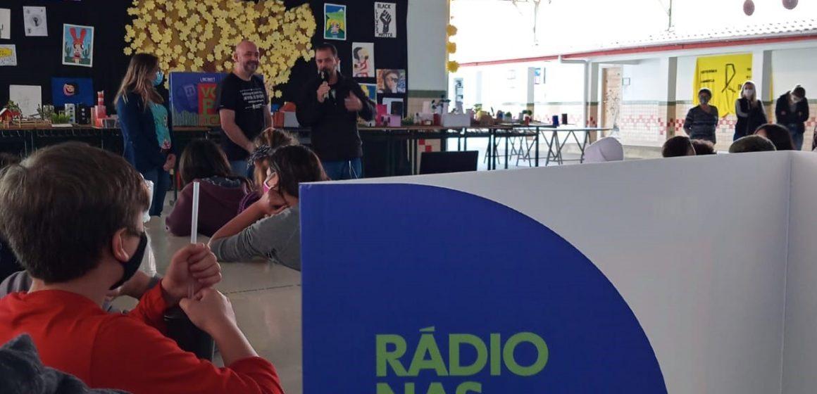 Semana do Rádio impacta mais de 700 estudantes de Rio do Sul